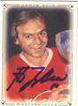 GUY LAFLEUR MONTREAL CANADIENS AUTOGRAPHED HOCKEY CARD #31813D