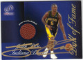 JALEN ROSE AUTOGRAPHED PIECE OF THE GAME BASKETBALL CARD #31812K