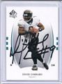 David Garrard Autographed Football Card 3188