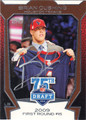 BRIAN CUSHING AUTOGRAPHED ROOKIE FOOTBALL CARD #31912S