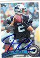 JIMMY CLAUSEN AUTOGRAPHED FOOTBALL CARD #32112R