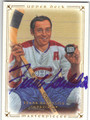FRANK MAHOVLICH MONTREAL CANADIENS AUTOGRAPHED HOCKEY CARD #32113A