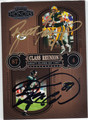 BRETT FAVRE & KEENAN McCARDELL DOUBLE AUTOGRAPHED & NUMBERED FOOTBALL CARD #32412A