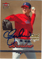 CRAIG BRESLOW BOSTON RED SOX AUTOGRAPHED ROOKIE BASEBALL CARD #32613E