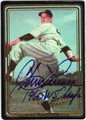 CLEM LABINE BROOKLYN DODGERS AUTOGRAPHED BASEBALL CARD #32813C