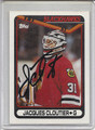 Jacques Cloutier Autographed Hockey Card 3279