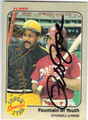 WILLIE STARGELL & PETE ROSE DOUBLE AUTOGRAPHED VINTAGE BASEBALL CARD #32913H