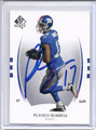 Plaxico Burress Autographed Football Card 3332