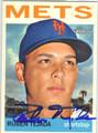 RUBEN TEJADA NEW YORK METS AUTOGRAPHED BASEBALL CARD #33113C