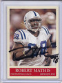 Robert Mathis Autographed Football Card 3394