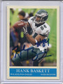 Hank Baskett Autographed Football Card 3462