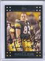 Heath Miller Autographed Football Card 3464