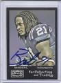 Bob Sanders Autographed Football Card 3476