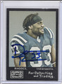 Dominic Rhodes Autographed Football Card 3477