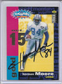 Herman Moore Autographed Football Card 3493