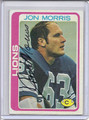 Jon Morris Autographed Football Card 3494