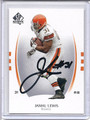 Jamal Lewis Autographed Football Card 3579