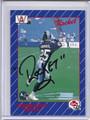 Raghib Rocket Ismail AutographedRookie  Football Card #3543