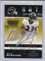 Willis McGahee Autographed Football Card 3582
