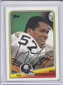 Mike Merriweather Autographed Football Card 3637