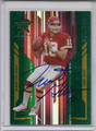 Trent Green Autographed & Numbered Football Card 3671