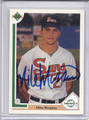 Mike Mussina Autographed Baseball Card 3710