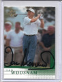 Ian Woosnam Autographed Golf Card 3850