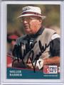 Miller Barber Autographed Golf Card 3868