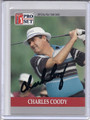 Charles Coody Autographed Golf Card 3878