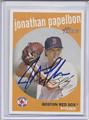 Jonathan Papelbon Autographed Baseball Card 3944