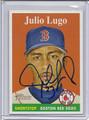 Julio Lugo Autographed Baseball Card 3947
