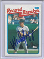 Wade Boggs Autographed Baseball Card 3948