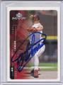 Bartolo Colon Autographed Baseball Card 3989