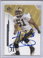 Jonathan Vilma Autographed Football Card 3970