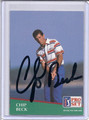 Chip Beck Autographed Golf Card 3971