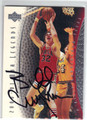 BILLY CUNNINGHAM PHILADELPHIA 76ers AUTOGRAPHED BASKETBALL CARD #40213D