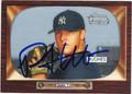 PHILIP HUGHES NEW YORK YANKEES AUTOGRAPHED ROOKIE BASEBALL CARD #40513B