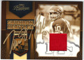 TRENT GREEN AUTOGRAPHED PIECE OF THE GAME FOOTBALL CARD #40812i
