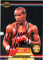 MICHAEL MOORER AUTOGRAPHED BOXING CARD #40813A