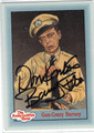 DON KNOTTS AUTOGRAPHED CARD #41013D