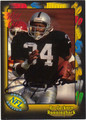 BO JACKSON LOS ANGELES RAIDERS AUTOGRAPHED FOOTBALL CARD #41113C