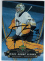 MARC-ANDRE FLEURY PITTSBURGH PENGUINS AUTOGRAPHED HOCKEY CARD #41113E