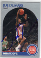 JOE DUMARS DETROIT PISTONS AUTOGRAPHED BASKETBALL CARD #41113H