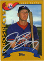 JASON BAY AUTOGRAPHED BASEBALL CARD #40912J