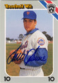 TOM SEAVER NEW YORK METS AUTOGRAPHED BASEBALL CARD #41213M