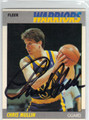 CHRIS MULLIN GOLDEN STATE WARRIORS AUTOGRAPHED BASKETBALL CARD #41013E