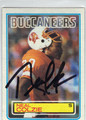 NEAL COLZIE TAMPA BAY BUCCANEERS AUTOGRAPHED VINTAGE FOOTBALL CARD #41313F