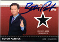 BUTCH PATRICK AUTOGRAPHED PIECE OF THE GAME AUTOGRAPHED CARD #41512J