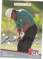 LEE TREVINO AUTOGRAPHED GOLF CARD #41512T