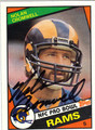 NOLAN CROMWELL AUTOGRAPHED VINTAGE FOOTBALL CARD #41712i